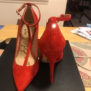 Sam Edelman red heels